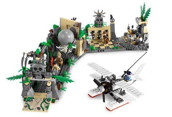 LEGO Indiana Jones 7623 Temple Escape Ucieczka ze światyni kula 41250