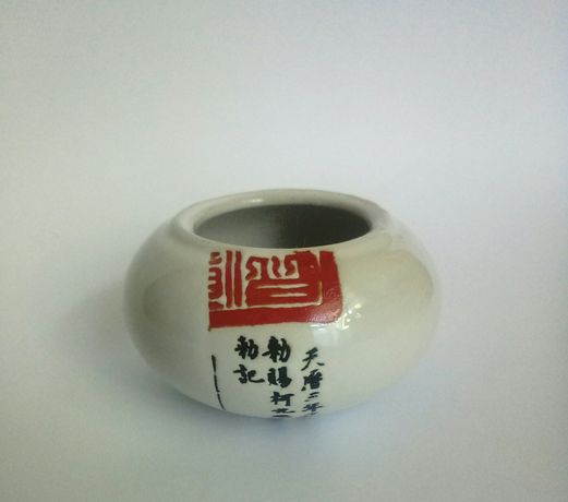 посуда, сахарница mitsui ceramic, кашпо