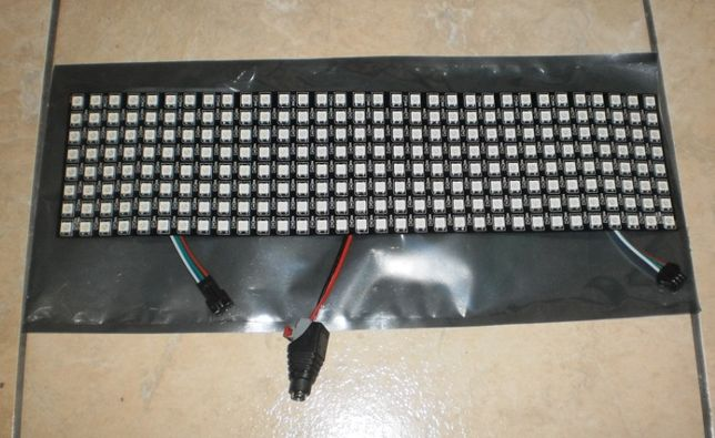 Matryca 8x32 wyświetlacz LED RGB WS2812B