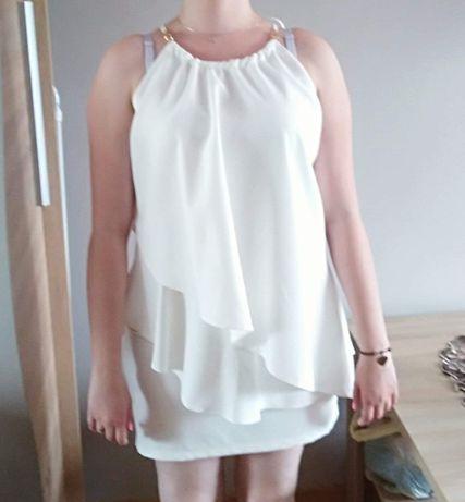 Sukienka By Lucca biała rozm. S/M