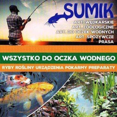 """Ryby, Rośliny, Chemia, Urządzenia do OCZEK I STAWÓW """"SUMIK"""""""
