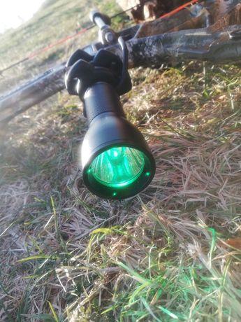 Stabilizator myśliwski do łuku z latarką polowanie łuk bloczkowy