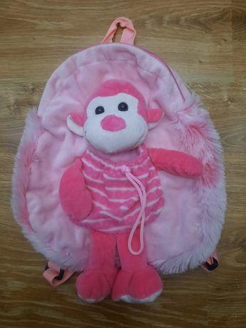 Plecak różowy dziewczecy