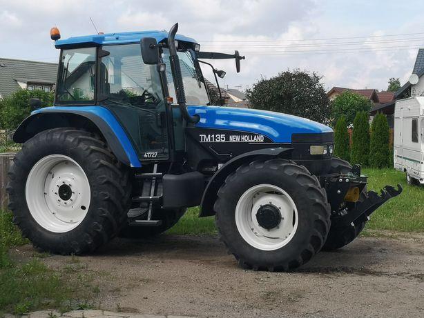 Traktor Ciągnik NEW HOLLAND TM135 Tuz! Wom! Klima! Supersteer!