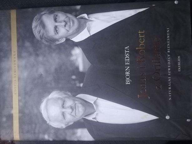 Jonas i Robert z Oriflame naturalni szwedzcy biznesmeni Bjorn Edsta