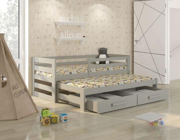 Podwójne łóżko dziecięce KUBI 2 . Wysyłka 7 dni! Rozmiary. Kolory