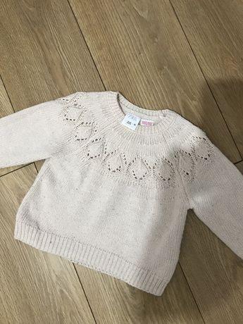 Sweter zara rozmiar 92