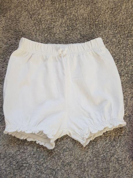 Bloomersy białe 74 cm