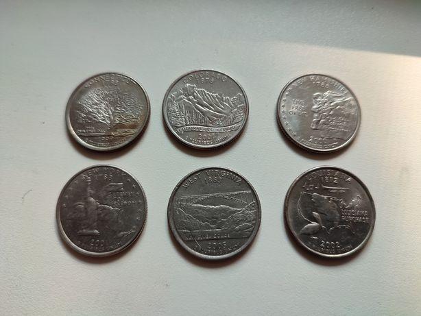25 центов США, квотеры