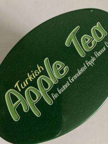Puszka po herbacie jablkowej - do kolekcji