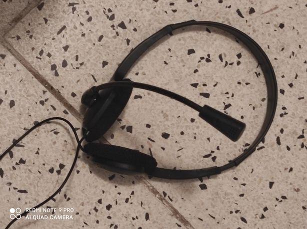 Słuchawki z mikrofonem,nowe