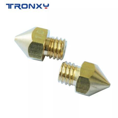 Tronxy miedziana dysza drukarki 3D MK8 M6 0,4 mm