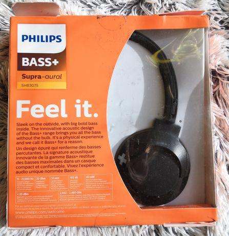 Słuchawki Philips bass +