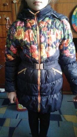 Продам зимове пальто для дівчинки