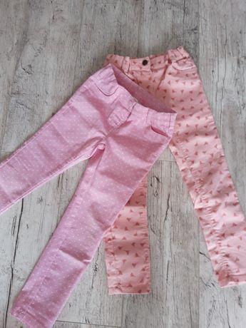 Spodnie dziewczęce c&a 122