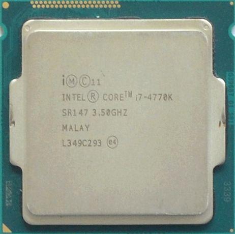 Процессор I7 4770K 3.5GHz 8Mb Intel Core 1150 SR147 | Гарантия 1 Год