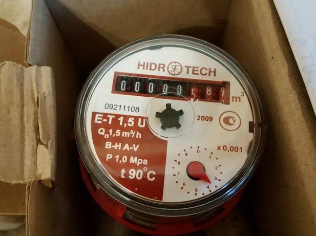 """Cчетчик Hidrotech 1/2"""" для горячей воды"""