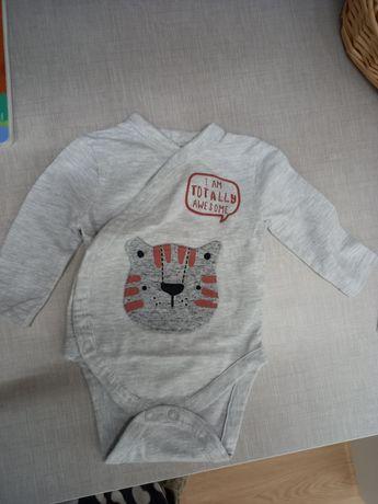 Body com leão e sweat 0-3 meses