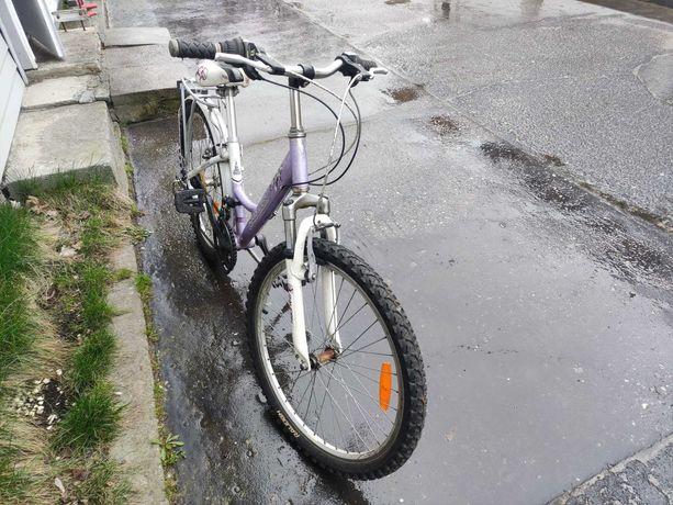 Rower dla dziewczynki po serwisie