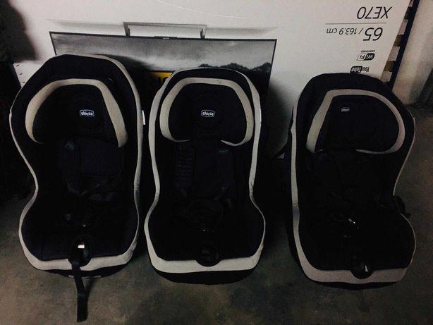 Cadeiras Chicco com e sem isofix