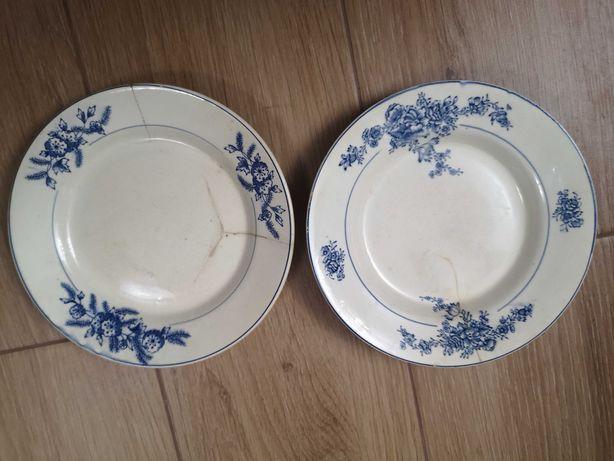 2 pratos antigos