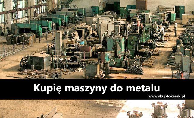 TOKARKA SKUP Maszyn do metalu Frezarka Wiertarka Szlifierka Prasa Piła