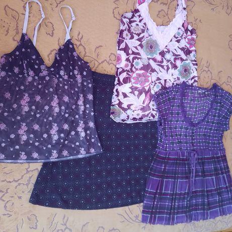 Обменяю шорты, топик, платье