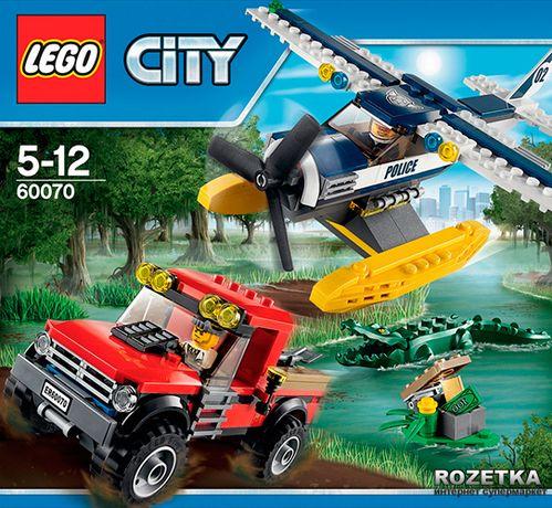 Конструктор Lego City Полицейский Гидроплан