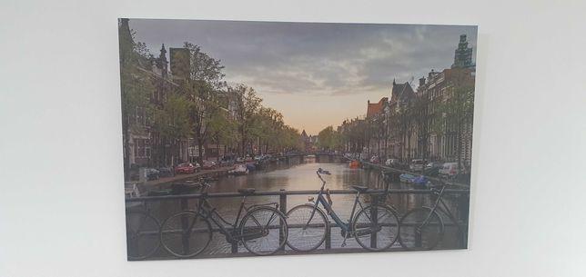 Quadro Alumínio - Fotografia original Amesterdão 30x45cm