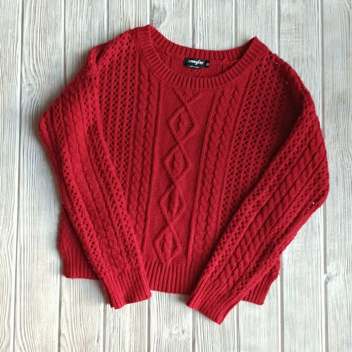Кофта (свитер) вязанная теплая женская от бренда Jennyfer Киев - изображение 1