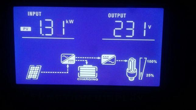 Inwerter hybrydowy Falownik przetwornica solarna Off-Grid potężny,Test