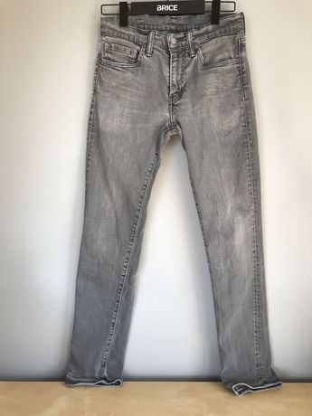 Levi's 511 szare W31 L 32 jeansy szare
