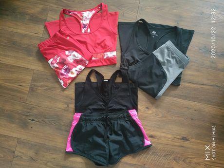 Zestaw ubrań sportowych kobiecych  r. XS