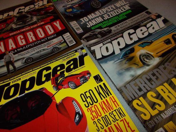 Top Gear z 2013 r. - zestaw 4 numerów