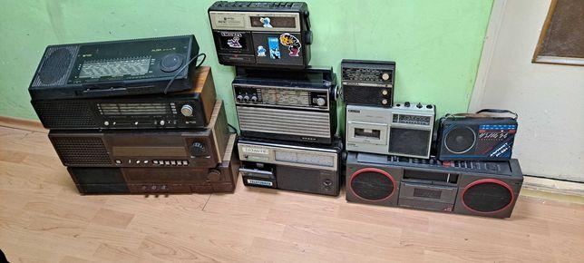 Zestaw radio 11 sztuk unitra diora cena za cały komplet