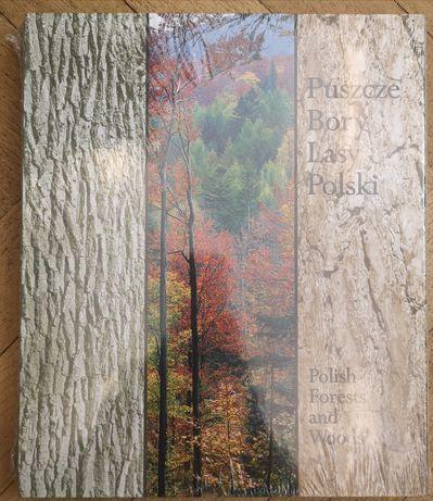 Puszcze Bory Lasy Polski album Forest wyd. 175 stron