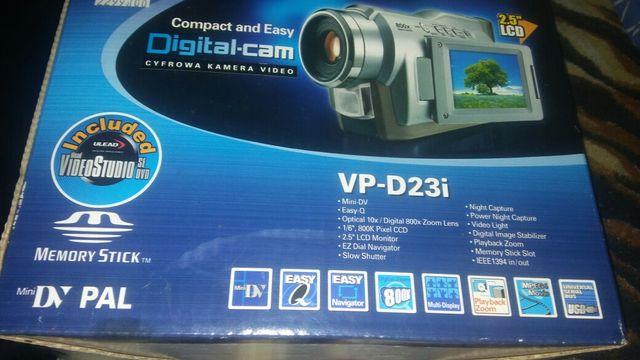 Cyfrowa kamera video Samsung-Nowa