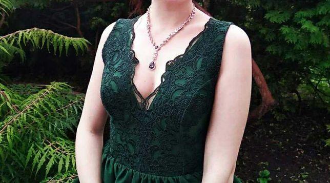 Темно - зелене плаття