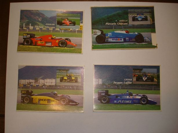 """Calendários #5 """"Formula 1 1986"""""""
