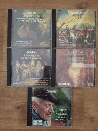 Vendo coleção 5 CDS música clássica