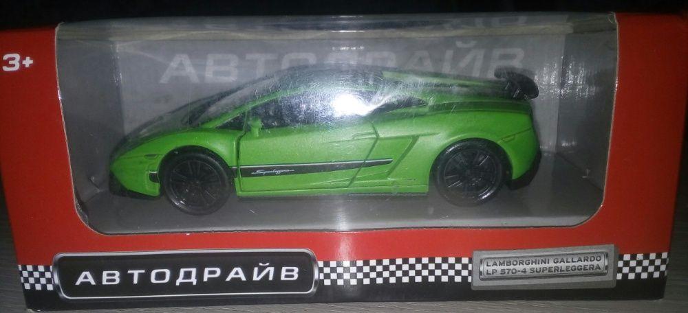 """Модель машинки """"Lamborghini"""" 1:32 Донецк - изображение 1"""