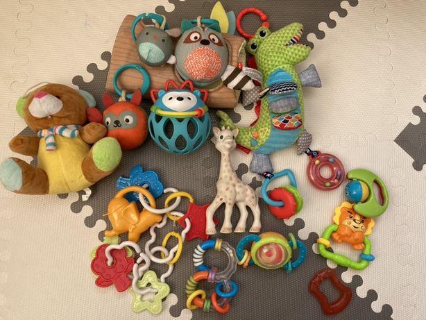 Zabawki duży zestaw Fisher Price Skip Hop Żyrafa Sophie