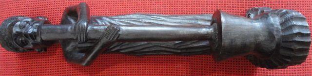 статуэтка идола черное дерево африка