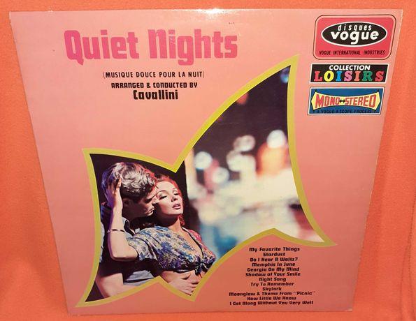 Disco Vinil - Quiet Nights