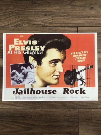 Plakat poster Elvis Presley Jailhouse Rock