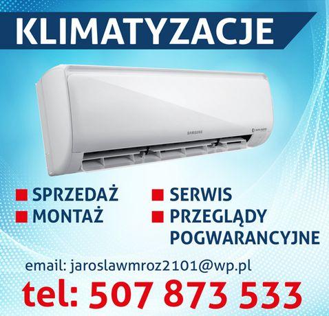 Klimatyzacja-montaż,sprzedaż,serwis,przeglądy pogwarancyjne