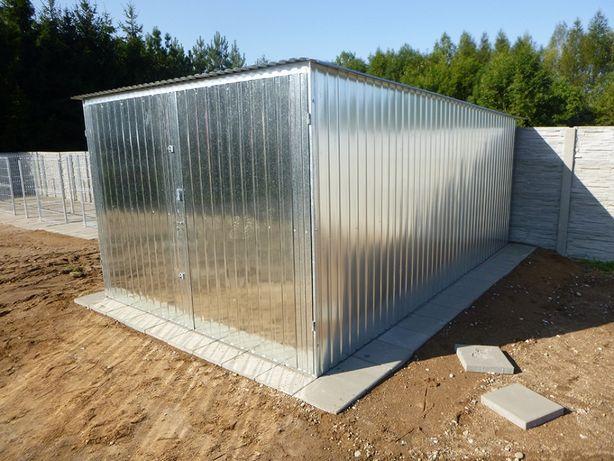 Garaż blaszany blaszak 3x5 garaże blaszane na budowę Producent garaży