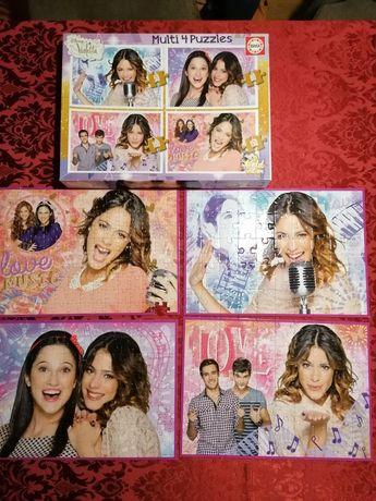 """4 Puzzles """"Violetta"""""""