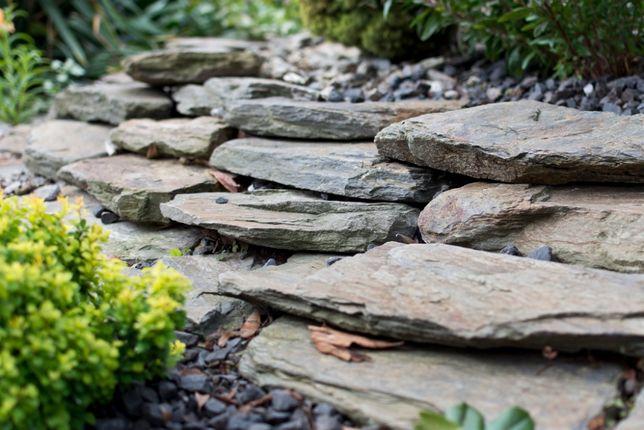 Kamień ogrodowy dekoracyjny ścieżkowy, płytki gnejsowe
