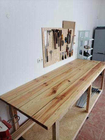 Mesa de workshop/ Bancada de trabalho